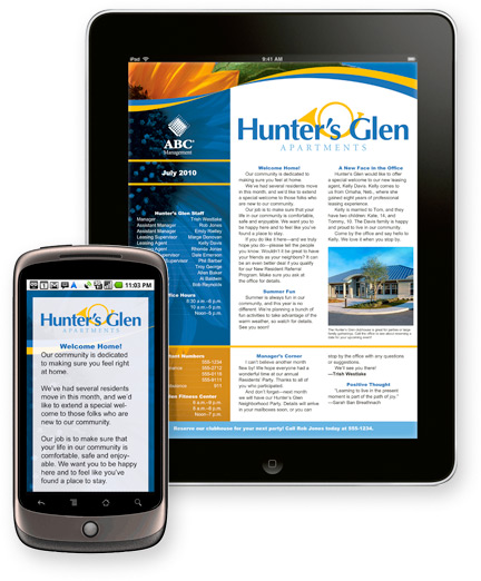 Our Digital Suite offers increased reach and readership